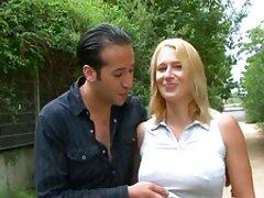 شقراء الكسيس فورد في ثوب عراقي فيلم سكس عراقي أسود